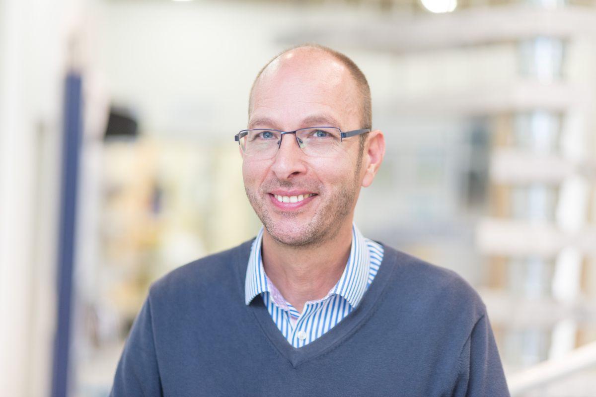 Geschäftsführer Robert Hofmann